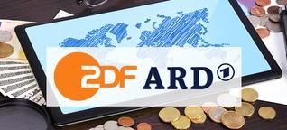 Rundfunkbeitrag: Soviel zahlen die Deutschen im internationalen Vergleich für ARD und ZDF
