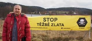 Tschechien: Kampf dem Goldrausch
