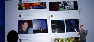 Facebooks Timeline: Harmlose Chronik oder das Ende der Privatsphäre? - RTL.de