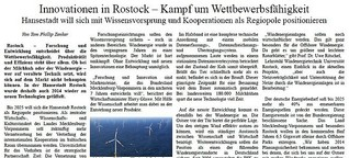 Innovationen in Rostock – Kampf um Wettbewerbsfähigkeit