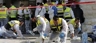 Anschlag in Jerusalem: Tödliche Schüsse inmitten des Gebets