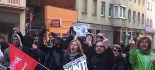 Rechtsextremen-Demo floppt: Nur 21 Neonazis erscheinen