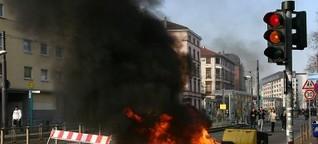 Schlachtfeld Frankfurt