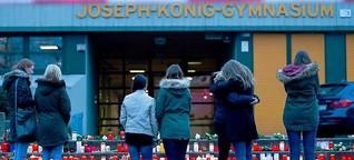 In Haltern trauern Mitschüler und Nachbarn