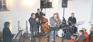 Großer Jazz-Nachmittag auf kleiner Bühne