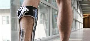 Exoskelett erleichtert das Gehen