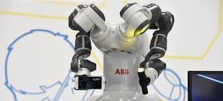Digitalisierung : Sechs Euro pro Stunde für einen Roboter