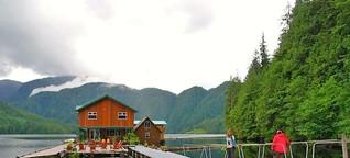 Grizzly-Lodge in Kanada: Zimmer mit Bärblick - SPIEGEL ONLINE