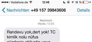 Hat Erdogan gerade tausende Deutsch-Türken mit einer Wahlkampf-SMS gestalkt?