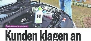 Ölverbrauch: Motorenprobleme bei Audi