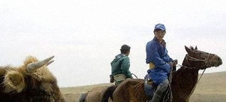 Nomaden werden zu Goldsuchern