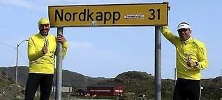 2000 Kilometer bis zum Nordkap: Blinder Thüringer erreicht sein Ziel