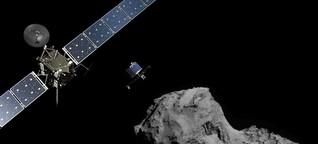 'Philaes' historische Kometenlandung: Ein Gefühl wie bei der Mondlandung