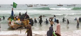 Vergessene Krise: Wie die EU vor Mauretanien Flüchtlingsboote stoppt
