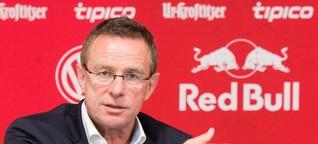 Neuer Leipzig-Trainer Rangnick: Dann mach ich's eben selbst - SPIEGEL ONLINE