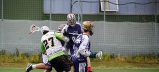 Lacrosse - indianisches Eishockey am Rasen