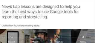 Google erklärt Journalisten das Googlen - Matthias Süßen