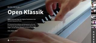 """""""Open Klassik - Musik für alle"""" [WDR3.de / WDR.de]"""