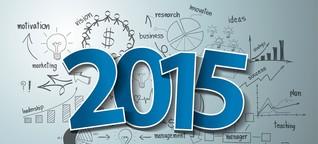 Mega-Trends 2015 - 18 Experten und ihre Prognosen fürs neue Jahr
