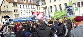 Übergriff auf 1. Mai-Kundgebung in Weimar: NPD-Jugend setzt auf Gewalt