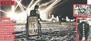 Wie der Kriegsfotograf PEP BONET das Heavy-Metal-Festival Wacken sieht