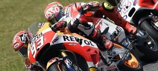 Katalonien-GP: Lorenzo siegt in der Königsklasse, Marquez stürzt erneut