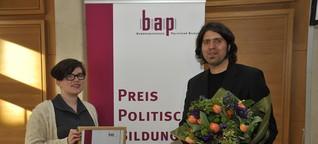 Preis politische Bildung für das GenderCamp