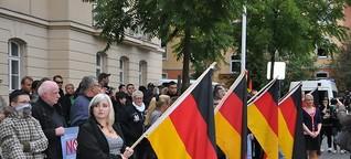 Asylkritiker, Pegida und NPD-Kundgebungen