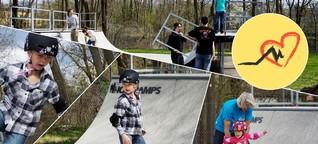 Skateprojekt 'Razed': Wo Kinder und Erwachsene zur Rampensau werden