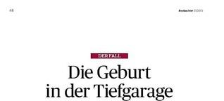 Schwere Geburt, Der Beobachter, 16.10.2015