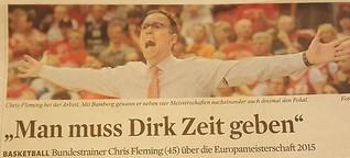 """Man muss Dirk Nowitzki Zeit geben"""