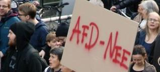 AfD-Demo: Erfurter Verhältnisse in Berlin