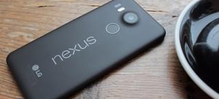 Nexus 5X im Test: Handlich, gut ... und teuer