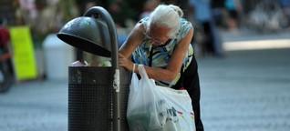 Rewe macht Rückzieher: Flaschensammler unerwünscht