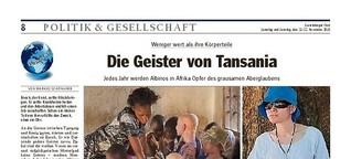 Die Geister von Tansania