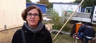Holzhäuser für Flüchtlinge