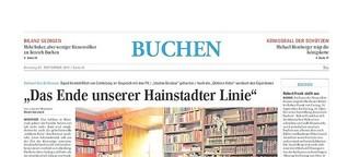 """""""Das Ende unserer Hainstadter Linie"""""""
