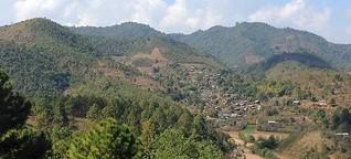 Myanmar: Handschuhe und Schal im Gepäck