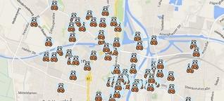 Kuh-Map - Rinderwahn in Minden