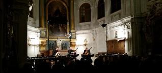 Kunst - Kultur Blog aus München: Muenchner Gitarrentrio.  Konzert in der Alten Kapelle der Residenz