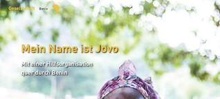360 Grad Afrika (Print): Mein Name ist Jovo