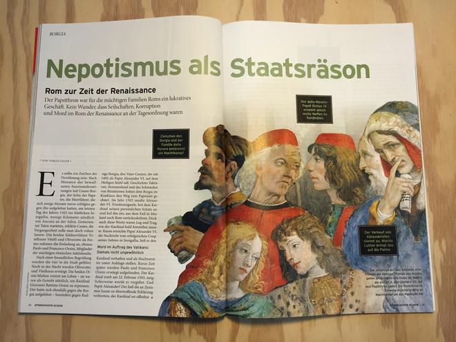 Nepotismus als Staatsräson – Rom zur Zeit der Renaissance