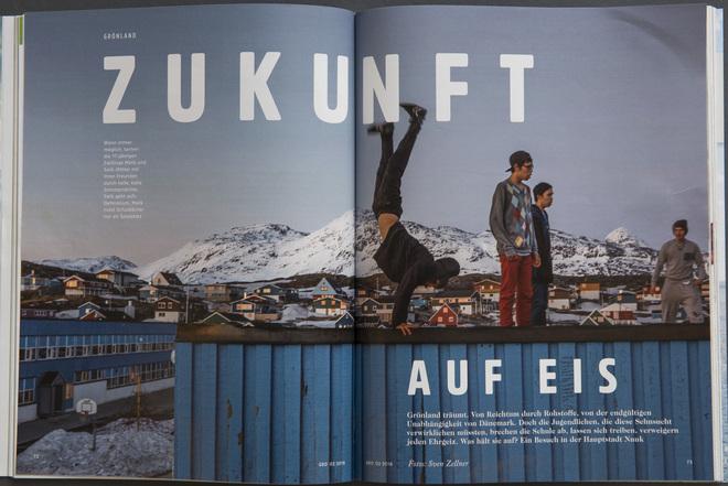 """GEO 2 /2016 """"ZUKUNFT AUF EIS"""" - Grönland"""
