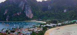 Ko Phi Phi in Thailand: Nichts Neues nach dem Tsunami