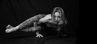 """Eva Kaczor: """"Mein Plan ist, Kunst und Yoga weiterzuentwickeln."""""""