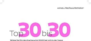 DOGS | Top-Hundetrainer unter 30 Jahren