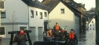 Flut 1995: Das Hochwasser beginnt und endet in der Kneipe