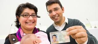 Mit einem neuen Pass in die Zukunft