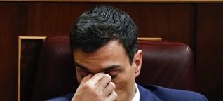 Regierungsbildung in Spanien - Patt im Parlament