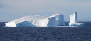 In der Eisberg-Allee: Kolosse aus Eis